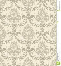 Baroque Design Wallpaper Damask Seamless Pattern Wallpaper Baroque Damask Seamless