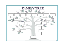 Free Editable Family Tree Template 40 Free Family Tree Templates Word Excel Pdf Template