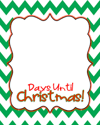 How Many Days Until Christmas 2016 | 2017 calendar template