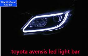 Automotive Led Light Strips Extraordinary AUTOPRO Avensis Led Light Bar Decorative Light Strip Car Styling