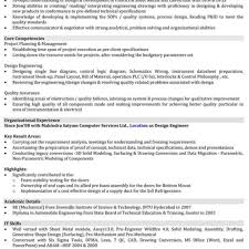 Technical Resume Non Technical Resume Format Fred Resumes 27