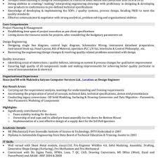 Automobile Resume Samples | Mechanical Engineer Resume Format regarding Non  Technical Resume Format