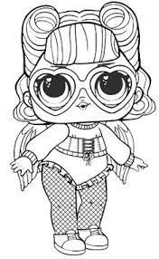 93 Delightful Lol Dolls Coloring Pages Images Coloring Books