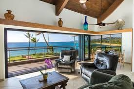 Beachfront Three Bedroom Oceanfront Penthouse On The East Side Kapaa