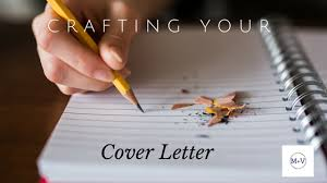 Crafting A Cover Letter Crafting Your Cover Letter Madisonandvine