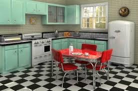 image of smart retro kitchen