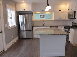 Kitchens With Uba Tuba Granite Contemporary Kitchen With Hardwood Floors Kitchen Island In