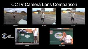 Cctv Camera Lens Comparison Using Sample Surveillance Video