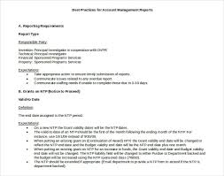 format of a management report 40 monthly management report templates pdf google docs