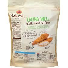 Tyson Naturals Lightly Breaded Chicken Strips Tyson Naturals Lightly Breaded Chicken Breast Strips 20 Oz