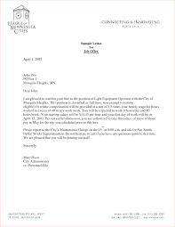 Offer Letter Sample Template Resume Builder