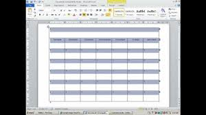 How To Create An Agenda In Word How To Create And Customize Calendar In MS Word YouTube 8