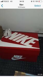 giant nike shoe box storage