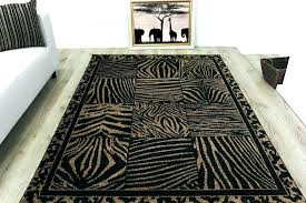zebra print rug awesome leopard runner with rugs pottery barn