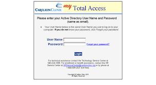 Carilion Clinic My Chart Access Mytotalaccess Carilionclinic Org