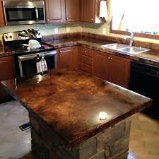 refinish concrete countertop cost to refinish