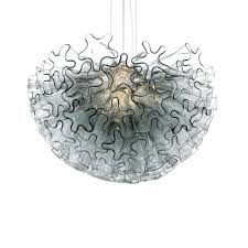 dahlia mini smoke grey viz glass chandelier parts suppliers viz glass large multi color chandelier