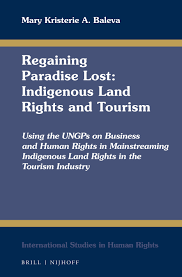 A Blue Sign Might Designate Indigenous Rights Under The 1987 Constitution In Regaining