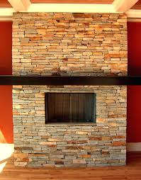 pictures stone veneer fireplace mantel stacked cost installation surround