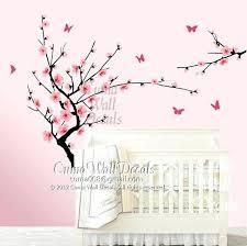 cherry blossom wall decor cherry blossoms wall decor baby nursery wall decals cherry blossom tree wall