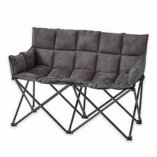 marvellous ideas double camping chair folding outdoor portable seat