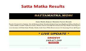 New Worli Chart Madhur Bazar Satta Matka Results 2019 Today Madhur Morning