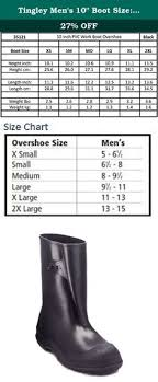 Tingley Overshoes Size Chart 26 Best Rain Boots Shoes Men Clothing Shoes Jewelry