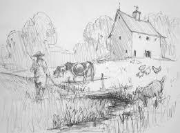 Paesaggi Disegnati A Matita Lm15 Regardsdefemmes