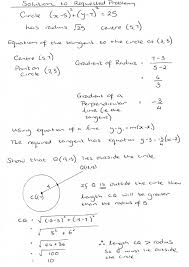 worked solution to wjec c2 past paper question