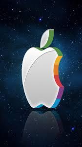 3d iphone wallpaper 3D Apple logo ...
