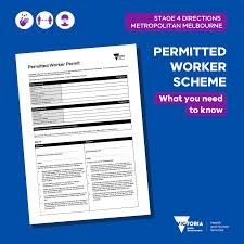 Overnight stays aren't allowed with the permit, meaning people driving from queensland need to do the trip in one day or apply for an exemption. Vicgovdh On Twitter From 11 59pm Wed 5 August Workplaces In Melbourne Must Close Unless The Workplace Is Part Of A Permitted Activity Or Employees Are Working From Home Employers That Require Staff