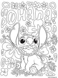 Coloriage Mandala Disney Facile Stitch From Lilo And Stitch Dessin