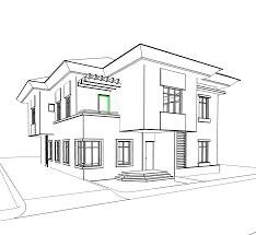 Villa Sketch Design Villa Sketch At Paintingvalley Com Explore Collection Of