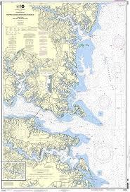 Amazon Com Noaa Chart 12235 Chesapeake Bay Rappahannock