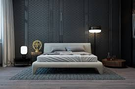 Small Contemporary Bedrooms Gorgeous Dark Bedroom Designs With Minimalist And Playful Approach