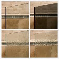 cons of frameless shower doors