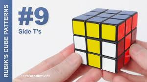 How To Make Designs On Rubik S Cube How To Make Rubiks Cube Patterns 9 Side Ts