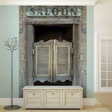 Western Saloon Bar Doors Fotobehang Behang Bestel Nu Op