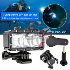 Underwater Camera Light Mount Underwater Waterproof Diving Spot Light Led Mount For Gopro
