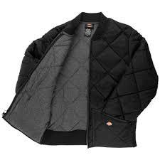 Dickies 61242 Diamond Quilted Nylon Jacket Medium Black | eBay & ... Picture 4 of 5 Adamdwight.com
