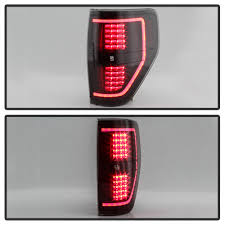 2010 F150 Rear Lights Not Working Details About New Black Smoke 2009 2014 Ford F150 Led Tube Tail Lights Brake Lamps Left Right
