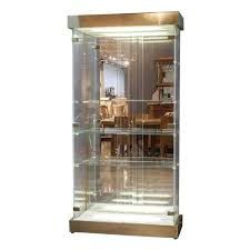 modern curio cabinet. Lucite And Glass Mid-Century Modern Curio Cabinet For Sale