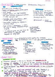 What Is The Best Note Making And Revision Strategy For Integrated