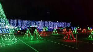 Hank Aaron Stadium Christmas Lights Show 2016 Youtube