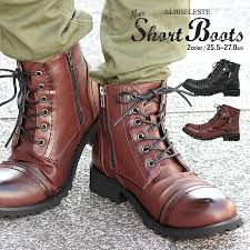 alb by albiceleste boots men side zip military riders engineer d boots vintage side zipper lock