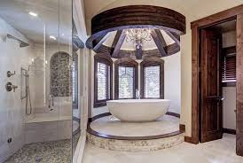 large freestanding bathtub