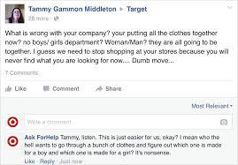 Man Poses As Target On Facebook Trolls Haters Of Its Gender