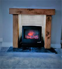 hand crafted fire surround