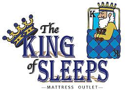 mattress king logo. The King Of Sleeps Mattress Outlet Mattress King Logo