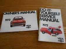 service manual chevy 1972 chevrolet vega orig owner manual 72 chevy do it yourself service manual